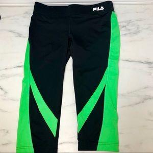 FILA Running Capri Leggings Size XS